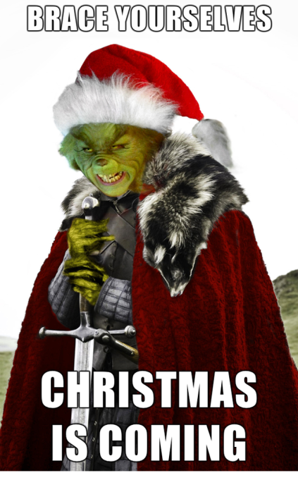 grinch christmas coming